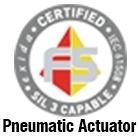 AEA- Pneumatic Rotary Actuator Certificate