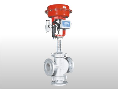 Pneumatic Diaphragm Thermic Fluid Modulating Control Valve High Temperature