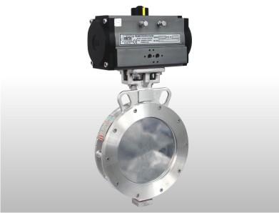 high performance butterfly valve, spherical disc valve