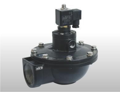Dust collector solenoid valve