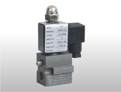 namur direct acting solenoid valve