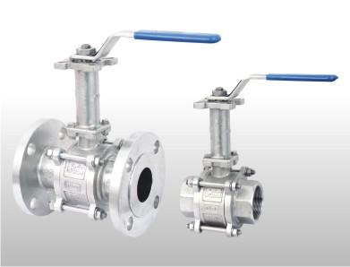 Extended Shaft 2 way ball valve