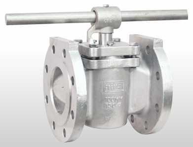 handle plug valve flanged