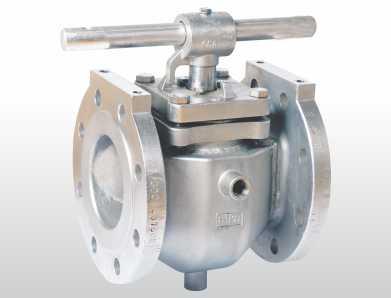 handle jackated plug valve