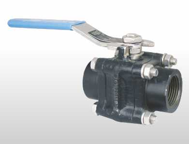 3 Piece Design Forged Reduce & Full Bore 2 Way Ball Valve